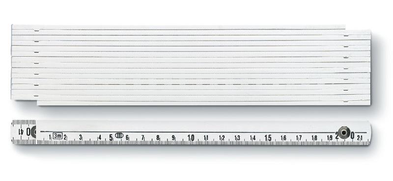 3m Glasfaser-Zollstock von BMI aus ABS (Productno.: BMI-1043)