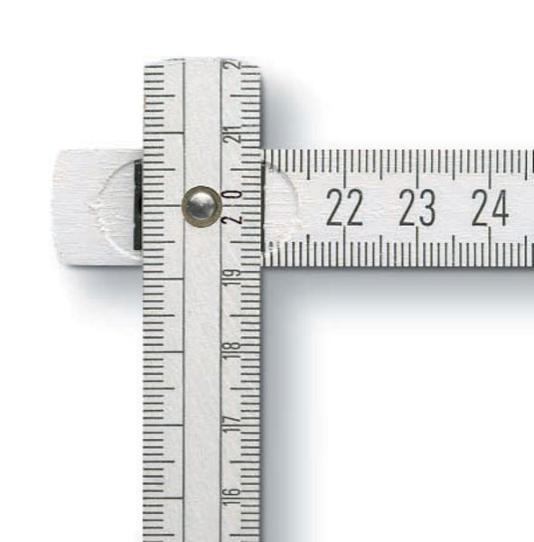 3m Qualität-Zollstock BMI aus Buchenholz (Productno.: BMI-9083)