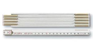 2m Spitzenqualität-Zollstock von BMI aus Buchenholz (Productno.: BMI-9142)