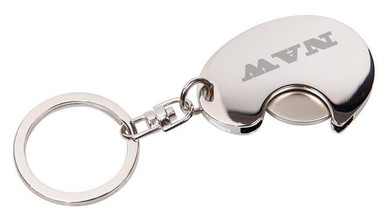 """Metall Schlüsselanhänger """"CHIP"""" (Productno.: BO-54256)"""