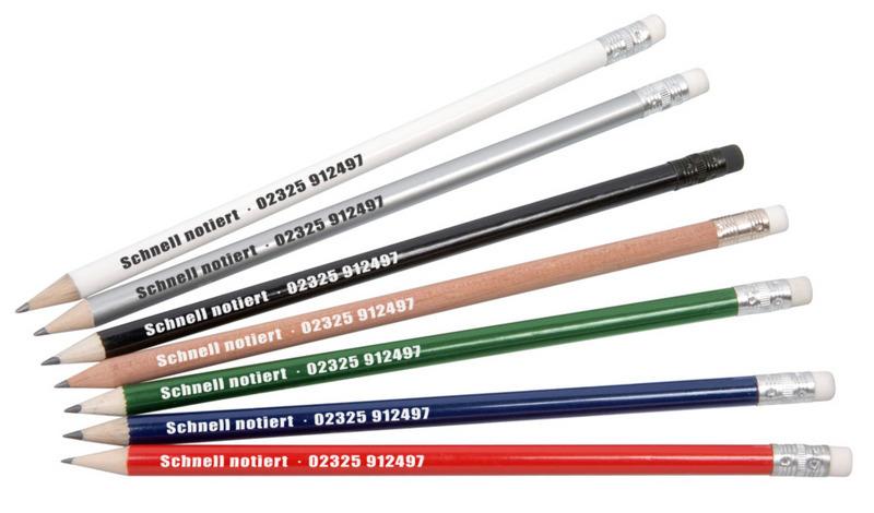 Bleistift mit Radiergummi (Productno.: BO-54278)