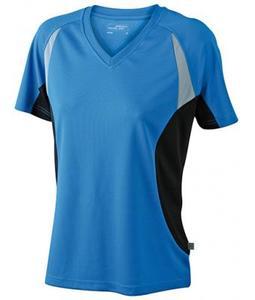 Damen Laufshirt mit V-Ausschnitt (Productno.: D-JN390)