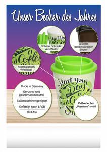 "Kaffeebecher ""Premium"" small (Productno.: FLYER-Kaffeebec)"