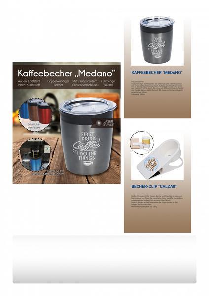 "Kaffeebecher ""Medano"" (Productno.: FLYER-Medano)"