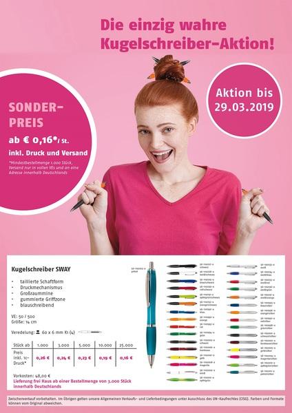 Frühjahrs-Aktion 2018 (Productno.: FLYER-SWAY)