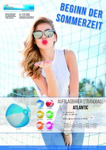 Strandball ATLANTIC (Productno.: FLYER-Wasserbal)