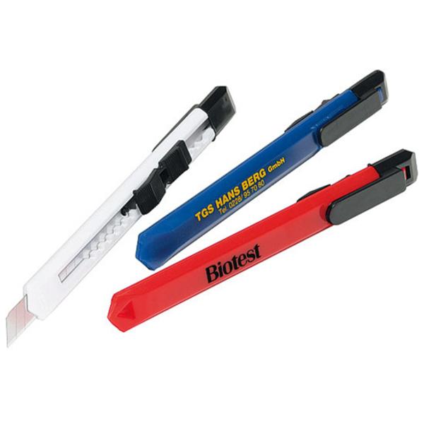 Cuttermesser mit Einhand-Feststellklinge (Productno.: H-7248)
