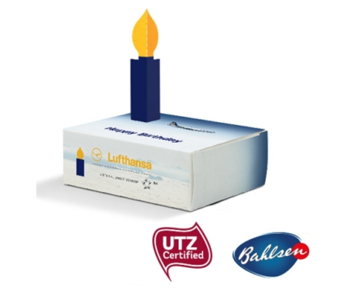 Bahlsen Mini-Kuchen in Gratulationsbox (Productno.: JU-Bahlsen Grai)