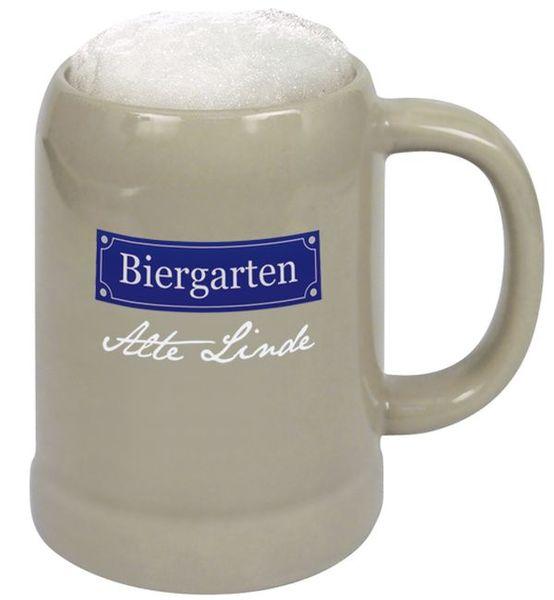 Bierkrug Weihenstephan in Steinzeug grau (Productno.: KA-A1017)