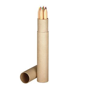 7 lange Holz-Buntstifte (Productno.: MAC-5609101)