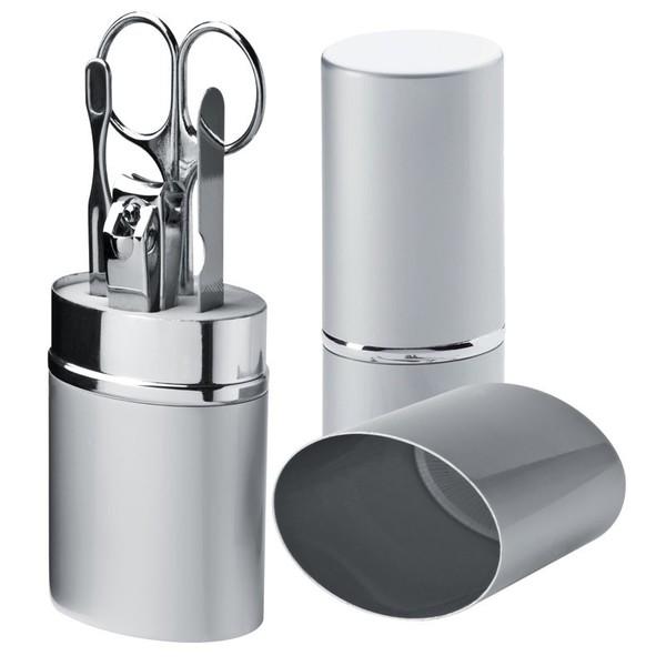 4-tlg Manikürset im Alubehälter (Productno.: MAC-7400307)