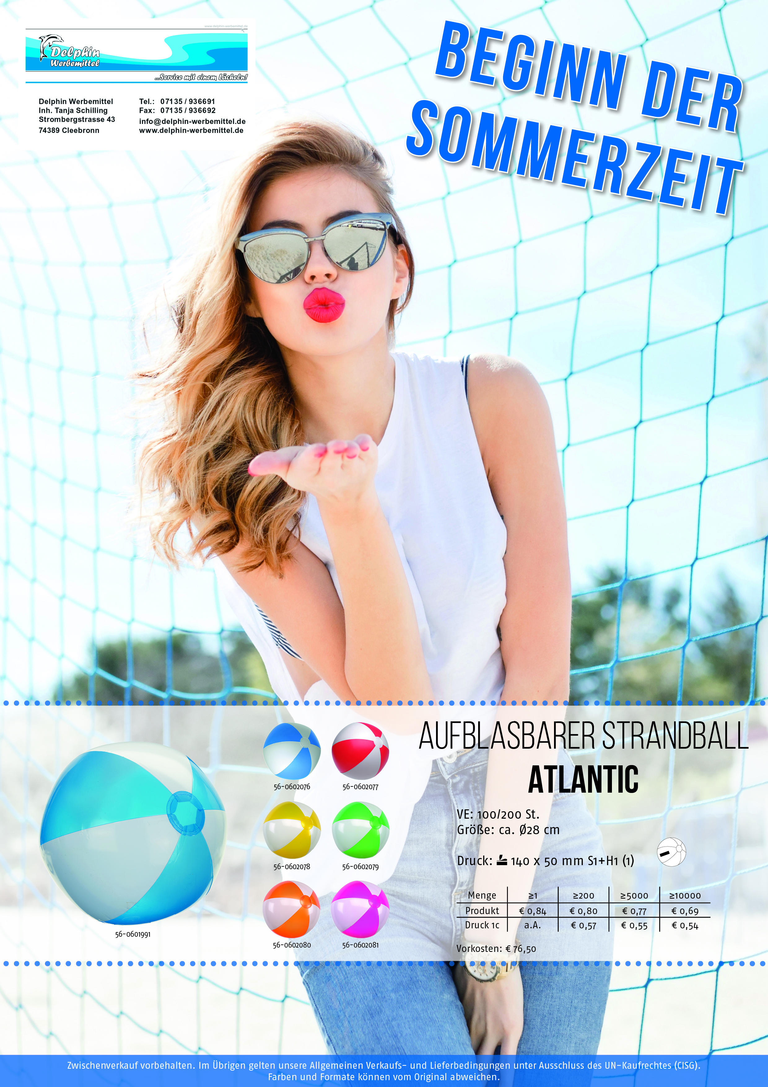 Strandball Atlantic